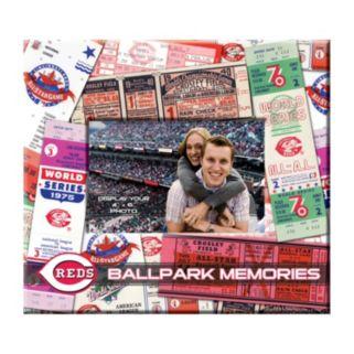 Cincinnati Reds 8 x 8 Ticket and Photo Album Scrapbook