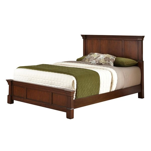 Homestyles Aspen 3 Pc Queen Headboard, Queen Bed Frame With Headboard And Footboard Wood
