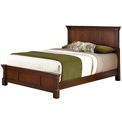 Home Styles Aspen 3-pc. King Headboard, Footboard and Frame Set