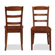 Aspen 2 pc Dining Chair Set