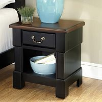 Black Aspen Nightstand