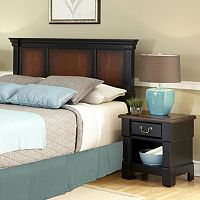 Aspen Ombre 2 pc Queen / Full Headboard & Nightstand Set