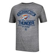 adidas Oklahoma City Thunder Varsity 2013 NBA Playoffs Tee - Men