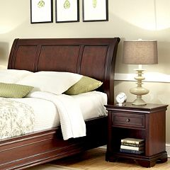 Lafayette 2 pc King Headboard & Nightstand Set