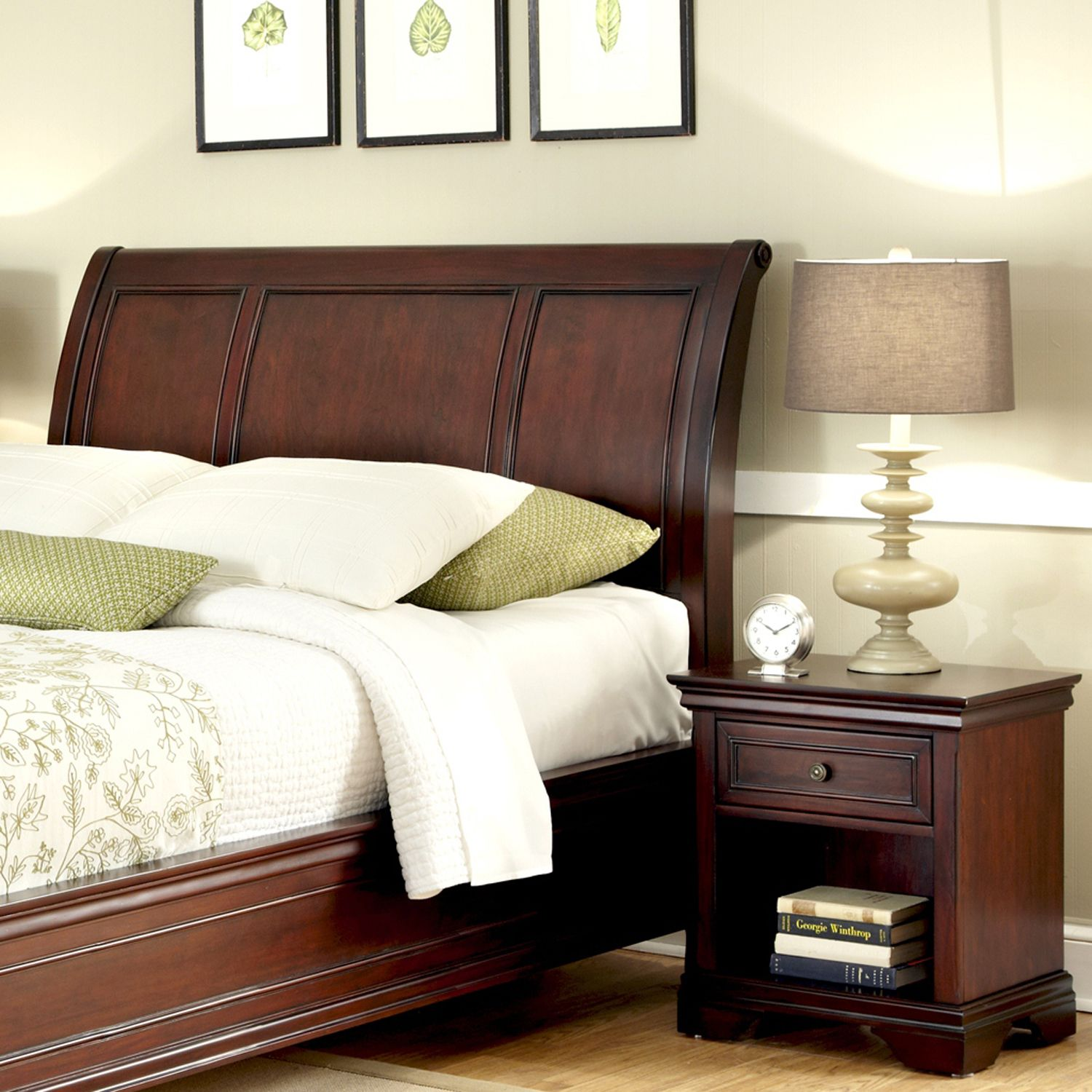 Best Lafayette pc King Headboard u Nightstand Set
