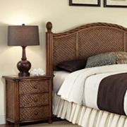 Marco Island 2 pc King Headboard & Nightstand Set