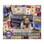 "Minnesota Twins 8"" x 8"" Ticket and Photo Album Scrapbook"