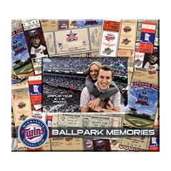 Minnesota Twins 8' x 8' Ticket and Photo Album Scrapbook