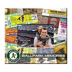 Oakland Athletics 8' x 8' Ticket and Photo Album Scrapbook