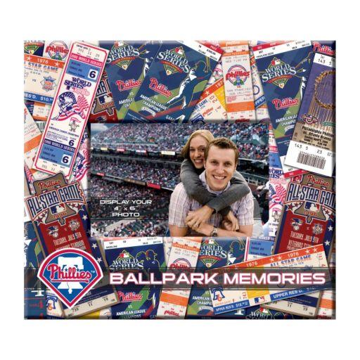 Philadelphia Phillies 8 x 8 Ticket and Photo Album Scrapbook