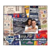 "San Diego Padres 8"" x 8"" Ticket and Photo Album Scrapbook"