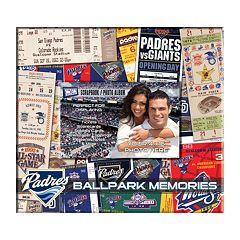 San Diego Padres 8' x 8' Ticket and Photo Album Scrapbook