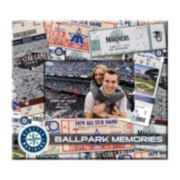 "Seattle Mariners 8"" x 8"" Ticket and Photo Album Scrapbook"