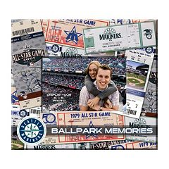 Seattle Mariners 8' x 8' Ticket and Photo Album Scrapbook