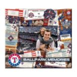 "Texas Rangers 8"" x 8"" Ticket and Photo Album Scrapbook"