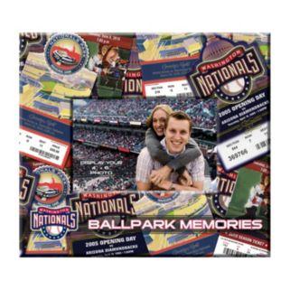 Washington Nationals 8 x 8 Ticket and Photo Album Scrapbook