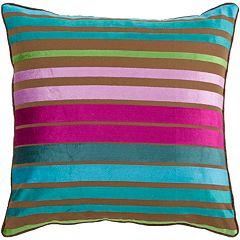 Decor 140 Bern Striped Decorative Pillow - 18' x 18'
