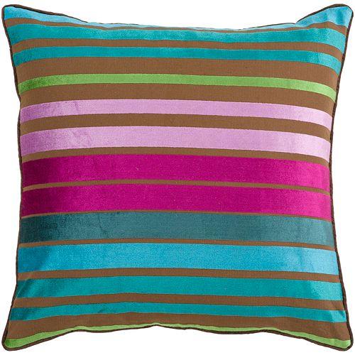 "Decor 140 Bern Striped Decorative Pillow - 18"" x 18"""
