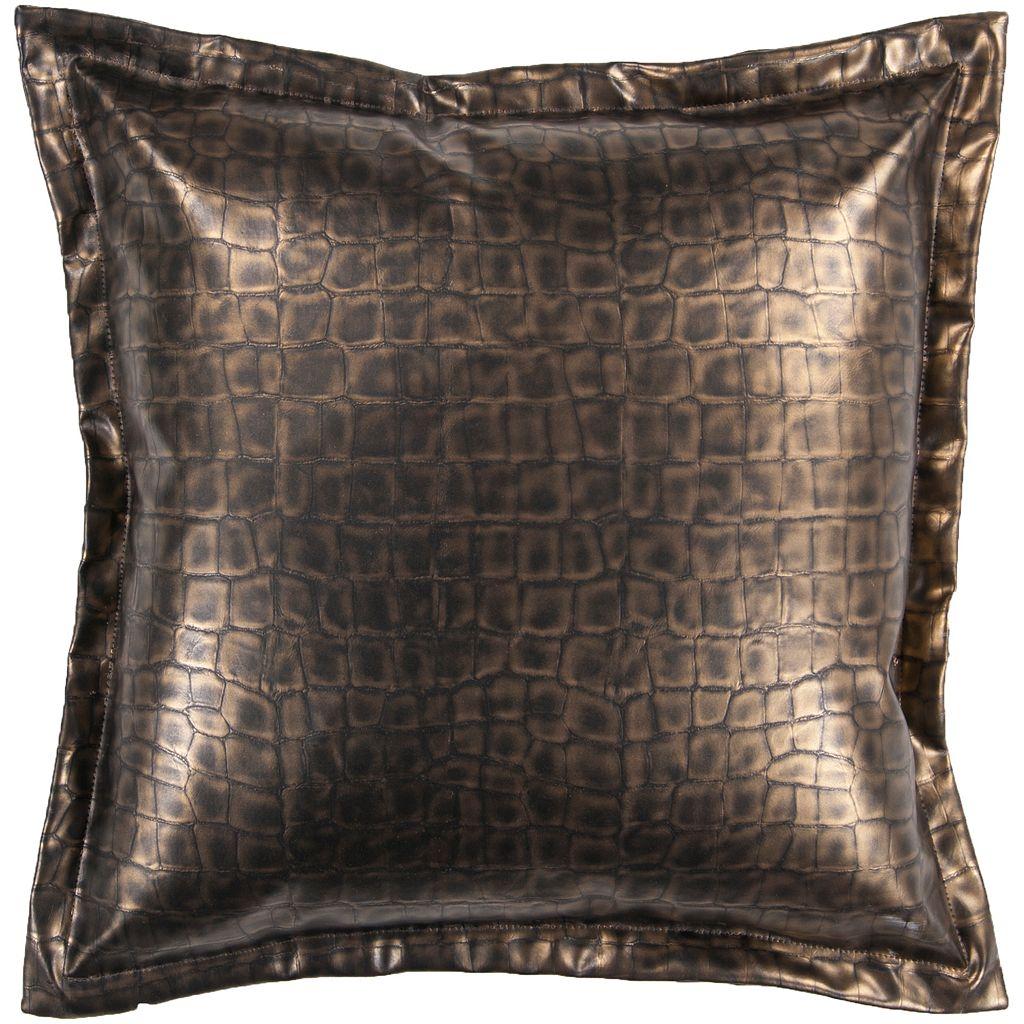 Decor 140 Biasca Leather Decorative Pillow - 18