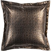Decor 140 Biasca Leather Decorative Pillow - 18