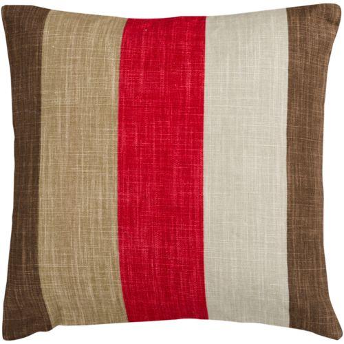 Decor 140 Broye Striped Decorative Pillow - 22'' x 22''