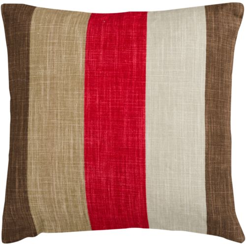 "Decor 140 Broye Striped Decorative Pillow – 22"" x 22"""