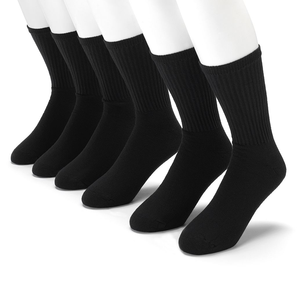 Men's Gildan Platinum 6-pk. Performance Crew Socks