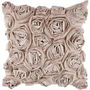 Decor 140 Bulle Rosette Decorative Pillow - 18' x 18'