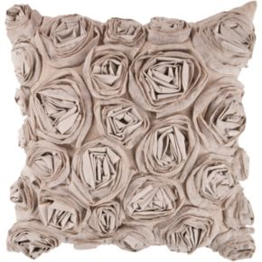 Decor 140 Bulle Rosette Decorative Pillow - 22'' x 22''