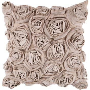 Decor 140 Bulle Rosette Decorative Pillow - 22
