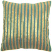 "Decor 140 Bulls Striped Decorative Pillow - 18"" x 18"""