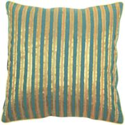 Decor 140 Bulls Striped Decorative Pillow - 18' x 18'