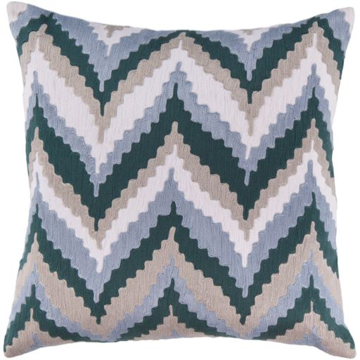 Decor 140 Chur Ikat Decorative Pillow - 18'' x 18''
