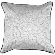Decor 140 Cross Line Decorative Pillow - 18' x 18'