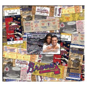 Atlanta Braves 12 x 12 Ticket and Photo Album Scrapbook