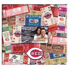 Cincinnati Reds 12' x 12' Ticket & Photo Album Scrapbook