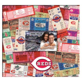 Cincinnati Reds 12 x 12 Ticket and Photo Album Scrapbook