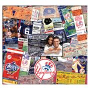 New York Yankees 12 x 12 Ticket and Photo Album Scrapbook