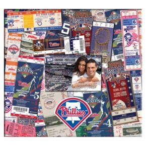 Philadelphia Phillies 12 x 12 Ticket and Photo Album Scrapbook
