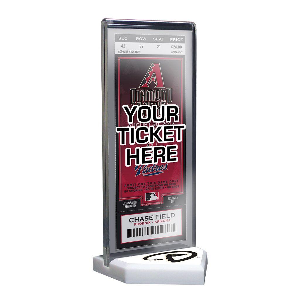 Arizona Diamondbacks Home Plate Ticket Display Stand