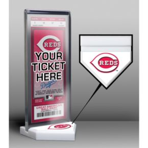 Cincinnati Reds Home Plate Ticket Display Stand