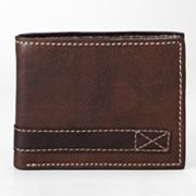 Relic Traveler Leather Bifold Wallet