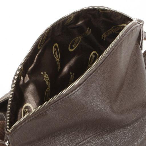 AmeriLeather Rocco Leather Messenger Bag
