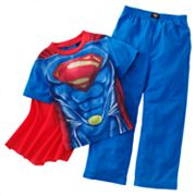Superman New Krypton 3-pc. Pajama Set - Boys 4-8