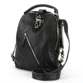 AmeriLeather Quince Leather Convertible Backpack
