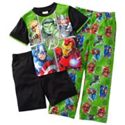 Marvel The Avengers Initiate 3-pc. Pajama Set - Boys 4-12