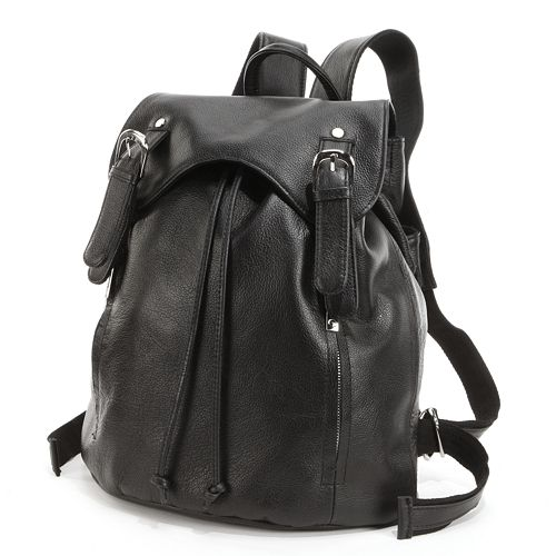 AmeriLeather Clementi Leather Backpack