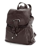 AmeriLeather Miles Leather Backpack