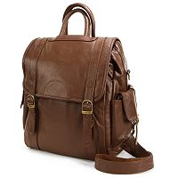 AmeriLeather Three Way Leather Backpack