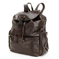 AmeriLeather Jumbo Leather Backpack